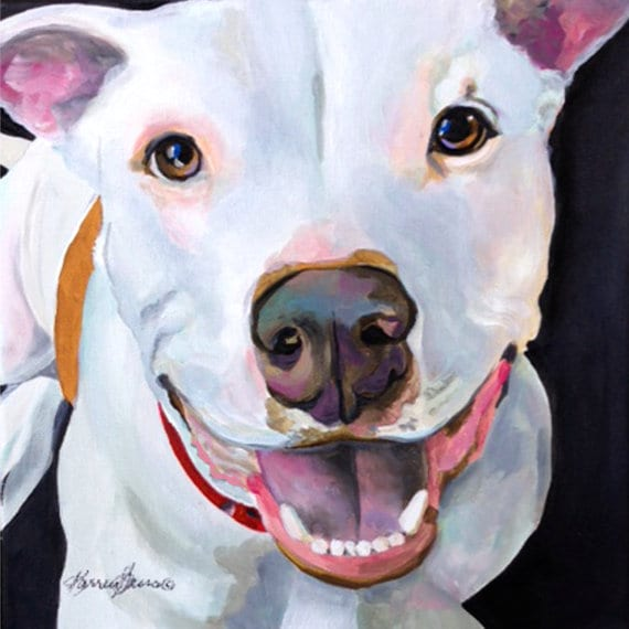 Karen Garces Dog Pop Art