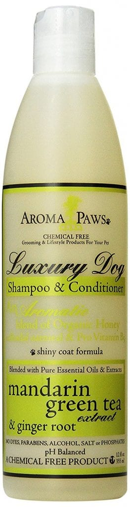 Aroma Paws All Natural Dog Shampoo