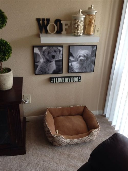 Dog Decor Shelf