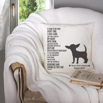 Pet Loss Gifts Memorial Pillow