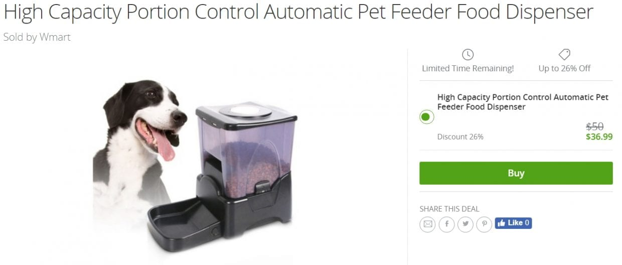 Cheap Automatic Feeder