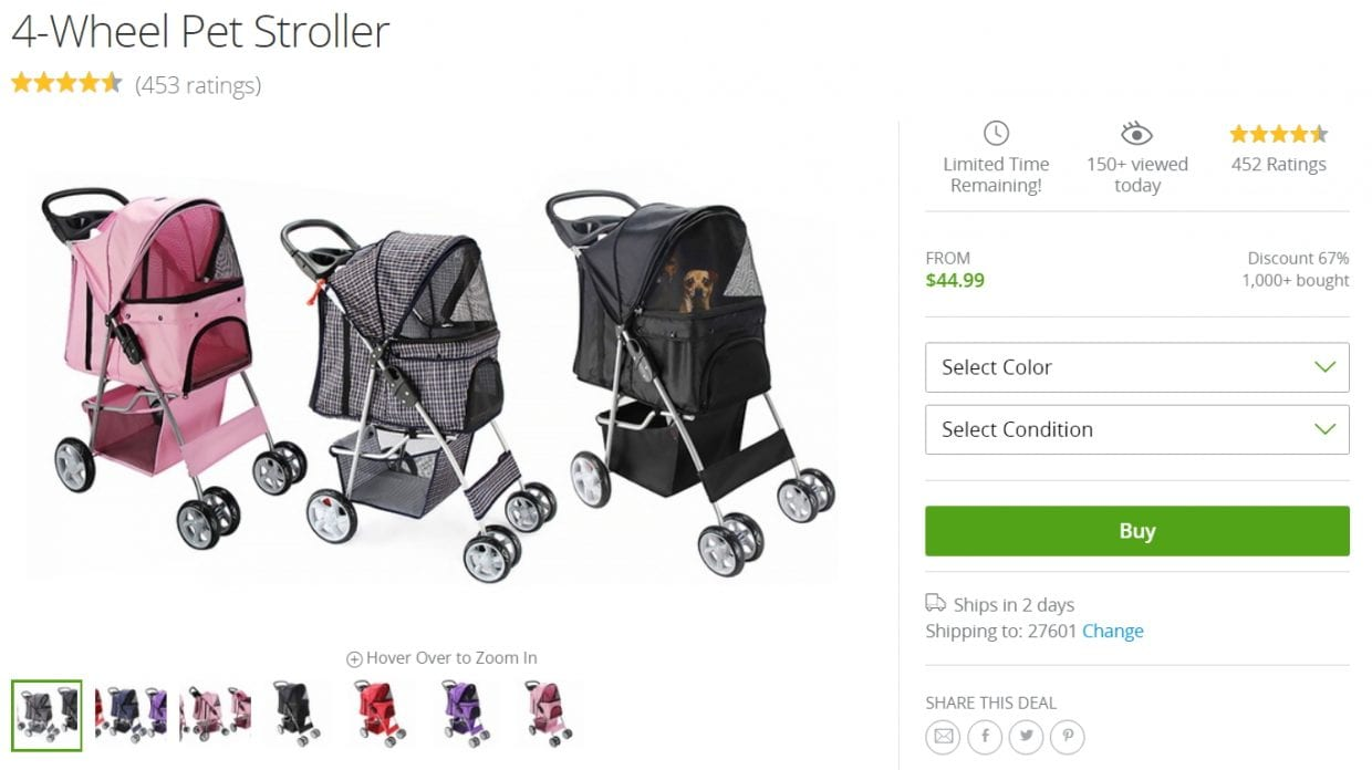 Cheap Pet Stroller