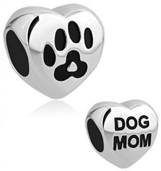 Dog Mom Bracelet Charm