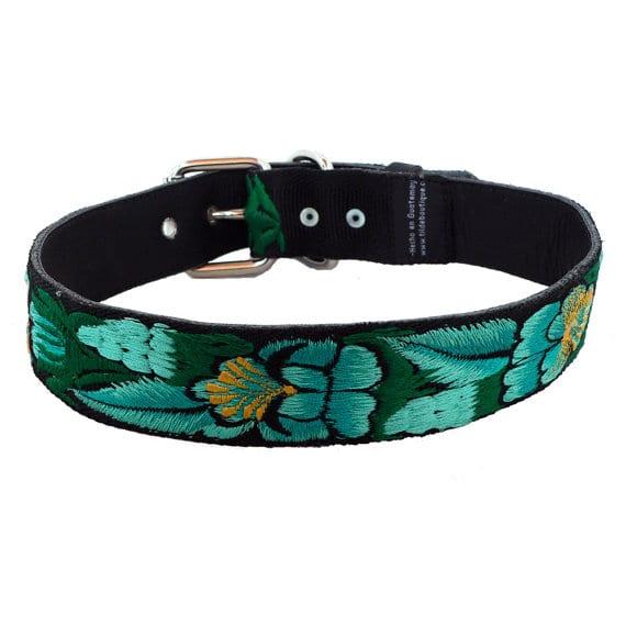 Hawaiian Dog Collar Set