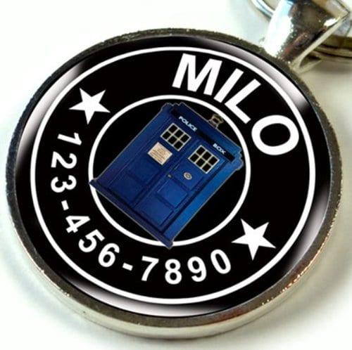 Doctor Who Dog Tag