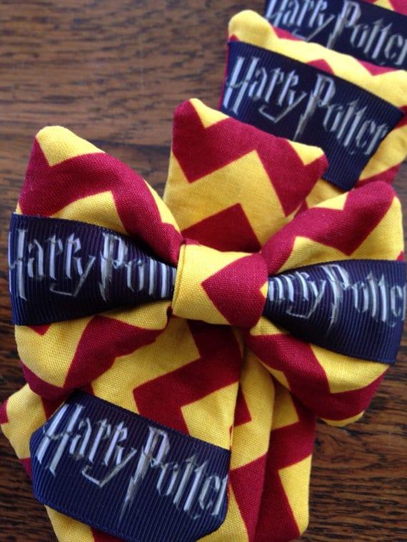 Harry Potter Dog Bowtie